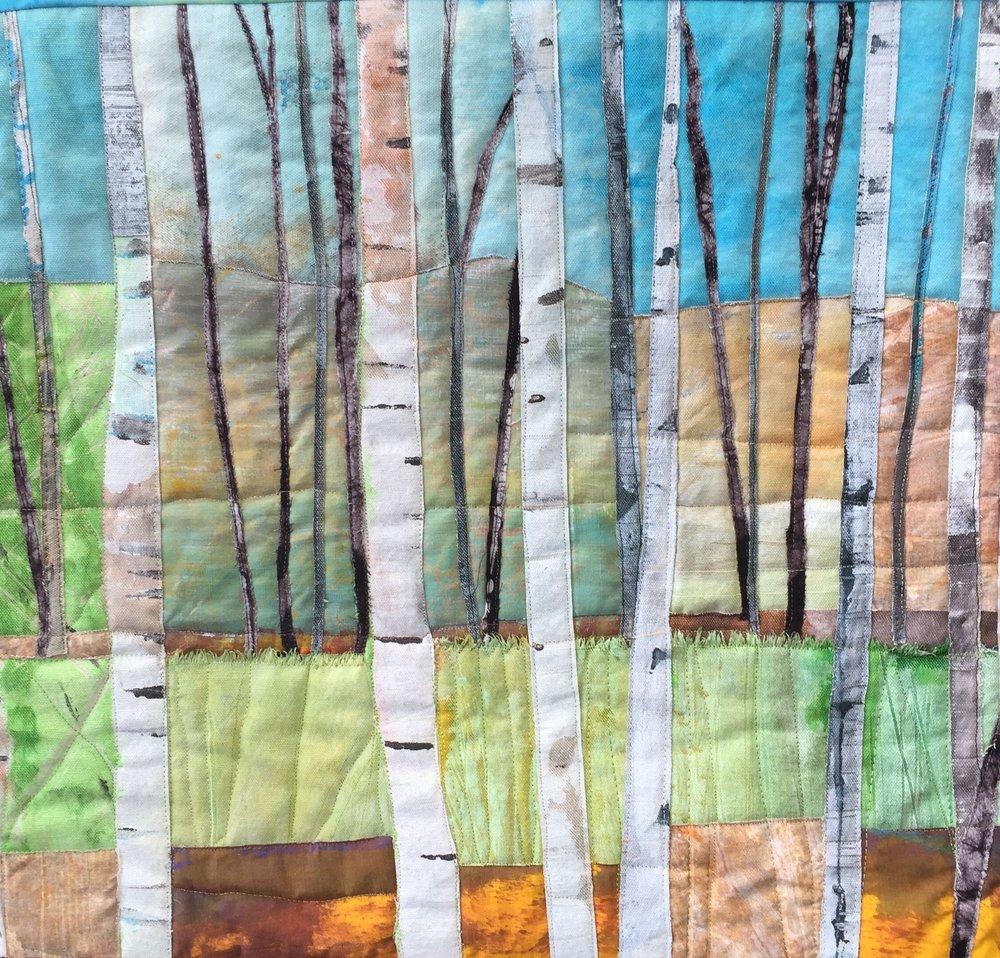 Birches #2