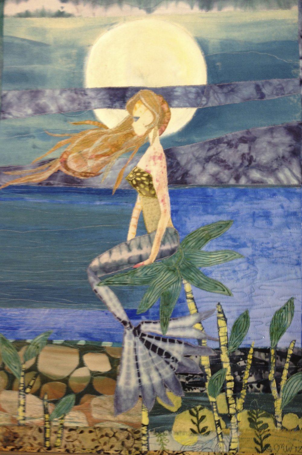 Mermaid with Full Moon