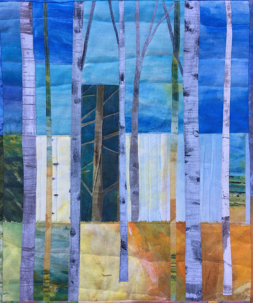 Birches #3