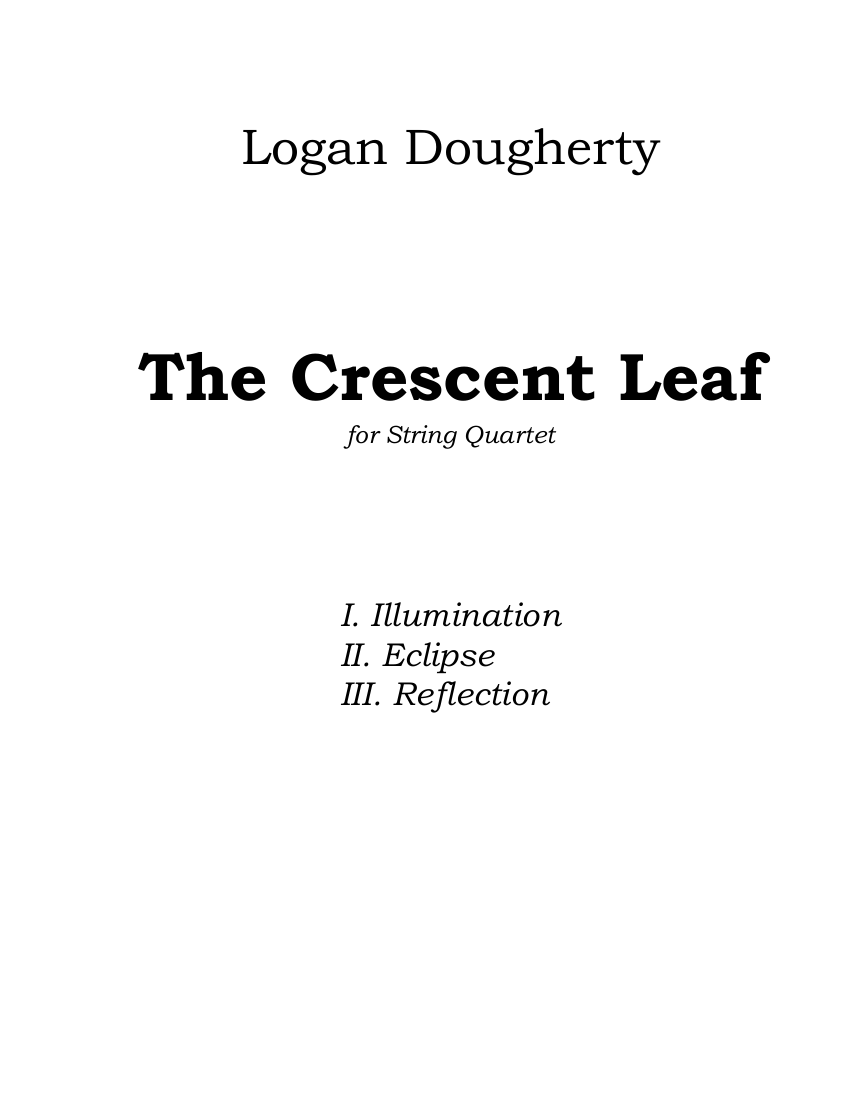 Dougherty - The Crescent Leaf - Cover.png