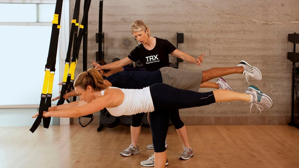 TRX Bodyweight Suspension Training