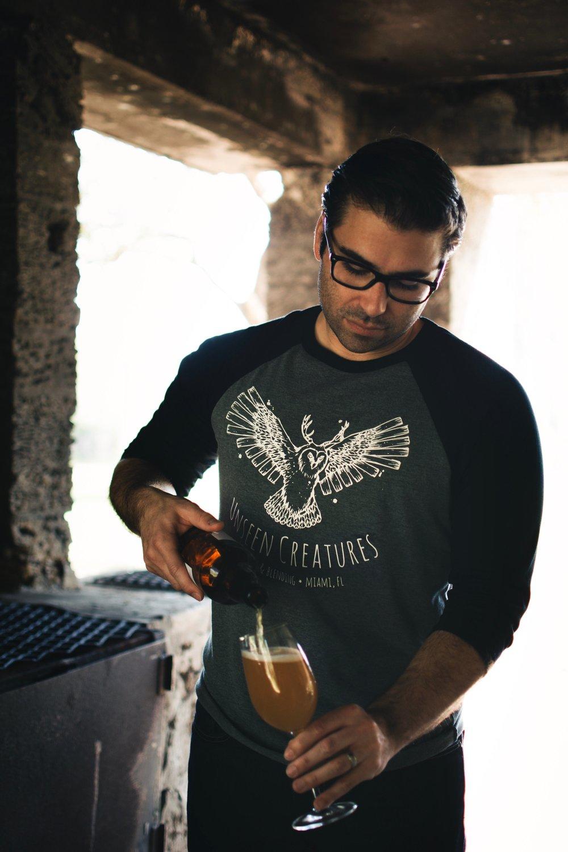 Marco -Founder, Blender & Head BreweR
