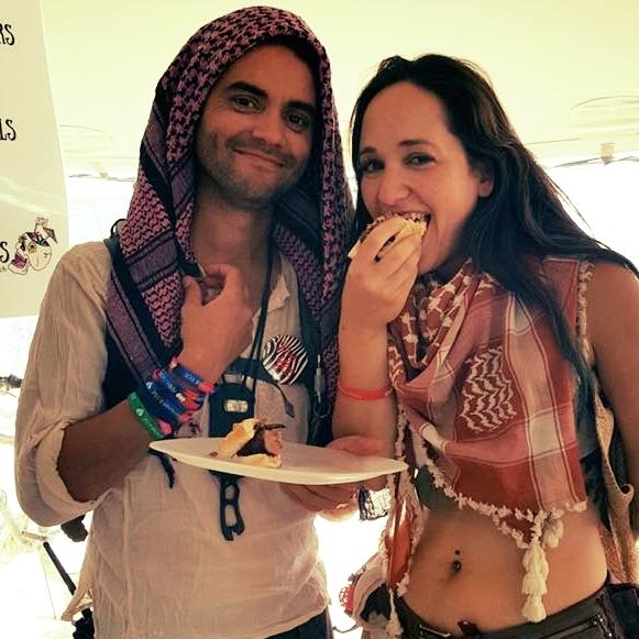Burning Man scarf