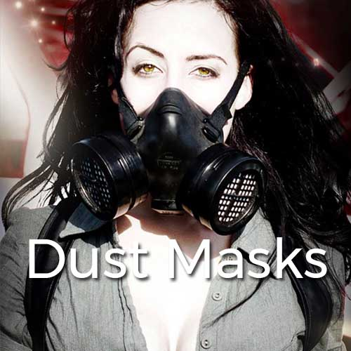 Burning the Man Dust Masks