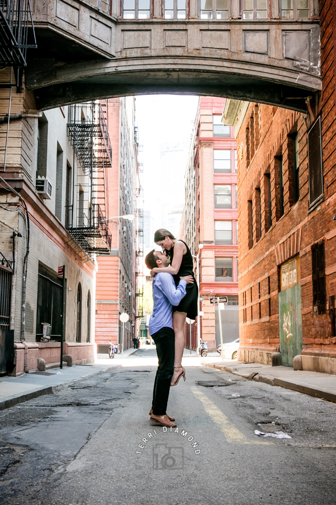 NYC, manhattan, engagement photography, engagement session, terri diamond photography,