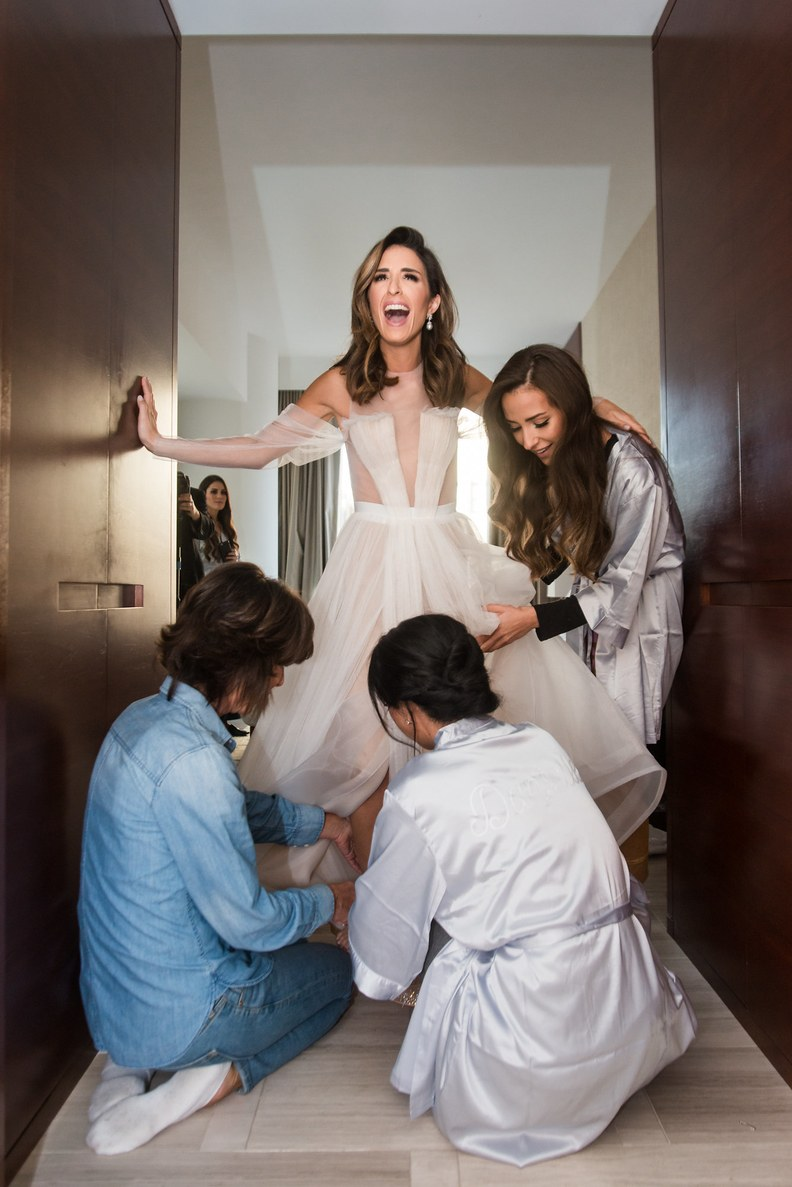 BRIDES MAGAZINE  - FEATURE: MICHAELA NACHMANI'S WEDDING