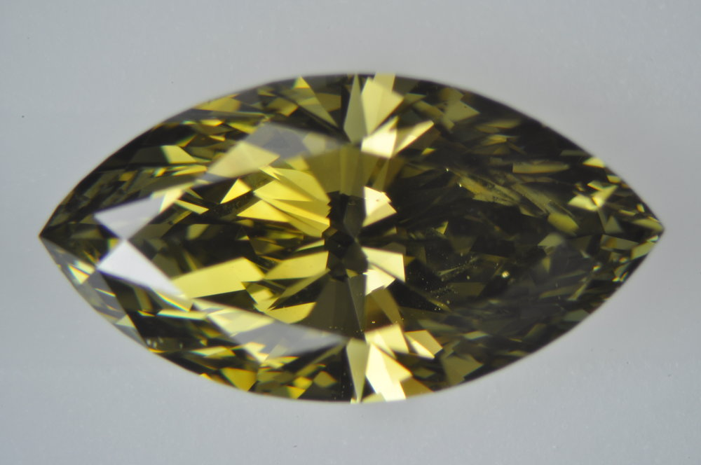 Natural Chameleon Diamond