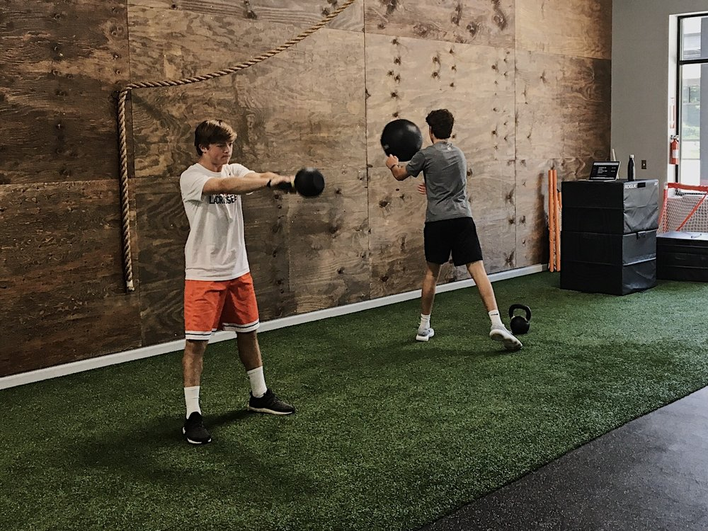 Team Training - Have fun pushing your teammates while building systemic and core strength, increasing mobility, improving speed and agility and developing your overall athleticism. Join your friends for sport-specific training and raise your game by learning and honing skills that will benefit you both on and off the field.Contact us for details.