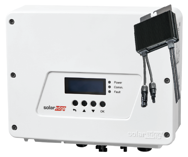 SolarEdge Inverter and Optimiser