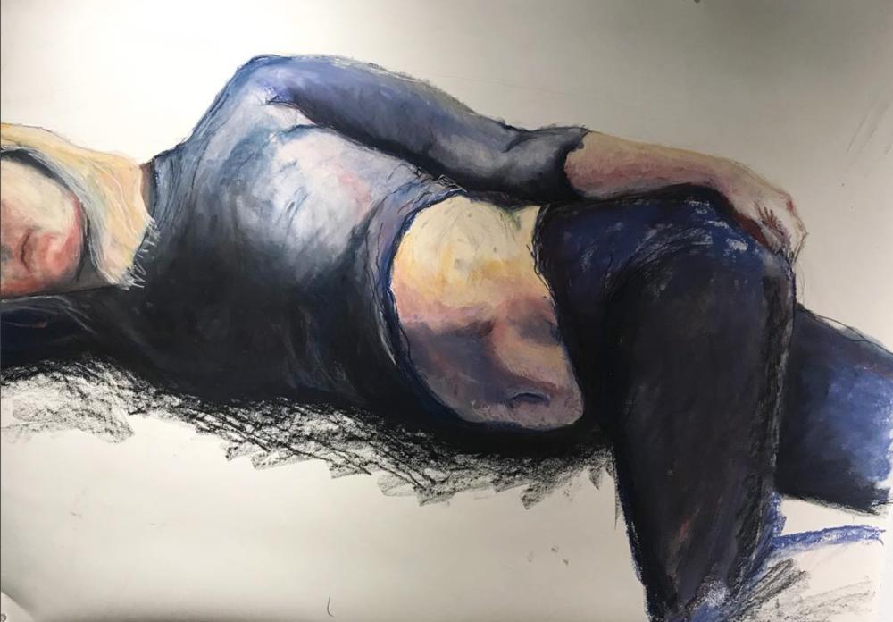 Figure Study by Dani