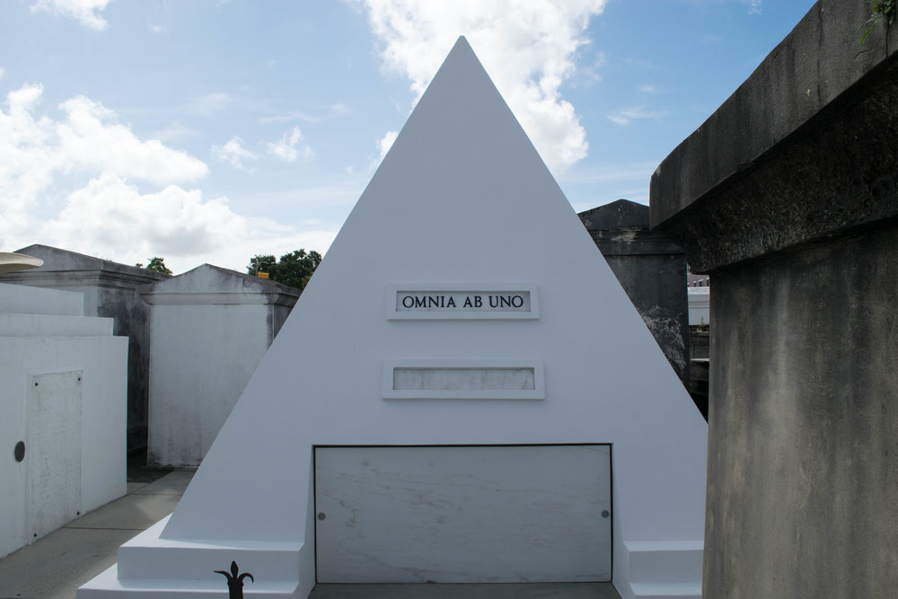 The future tomb of actor Nicholas Cage