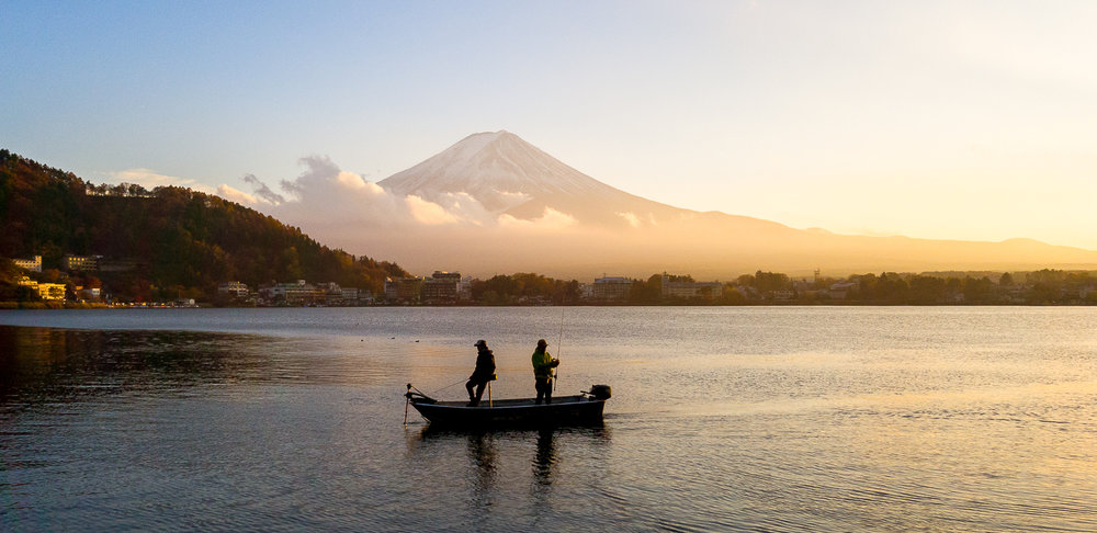 Lake Kawaguchi, Fujiyoshida, Japan - Captured in Pro Mode in RAW at F/1.7 | 1/1500 Sec | ISO 64
