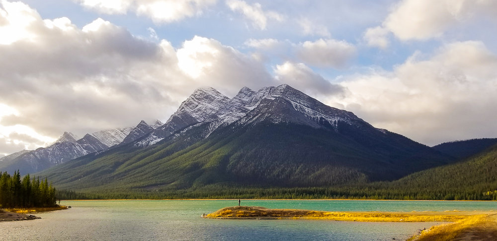 Spray Lakes, Alberta, Canada -  Captured in Auto as a JPEG File