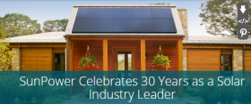 SunPower, 30years, Solar Leader, Green Energy Products