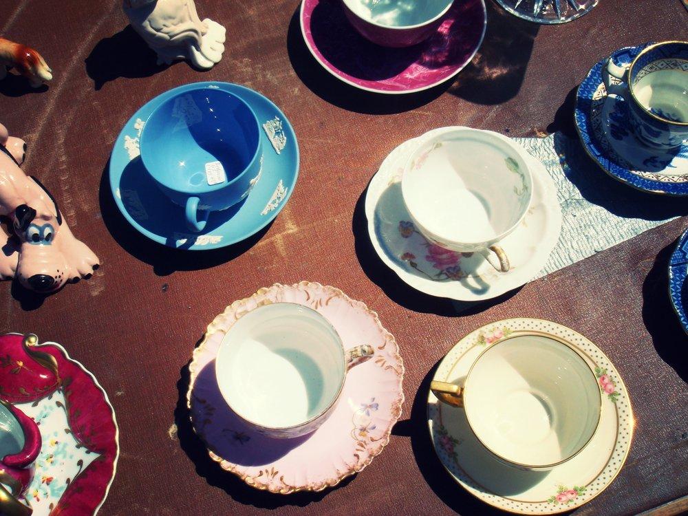 Tea cups for sale, San Francisco