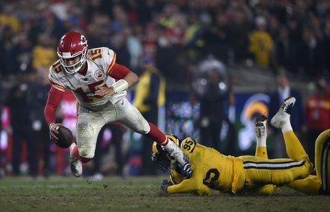 Los Angeles Rams 54 - Kansas City Chiefs 51 -