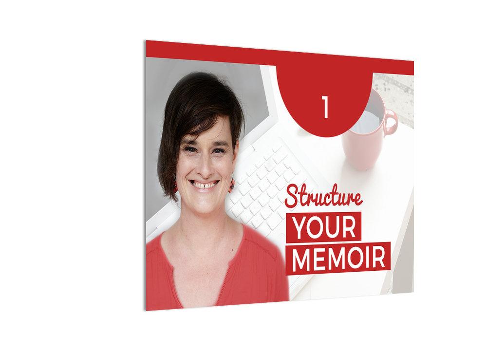 Structure Your Memoir course online