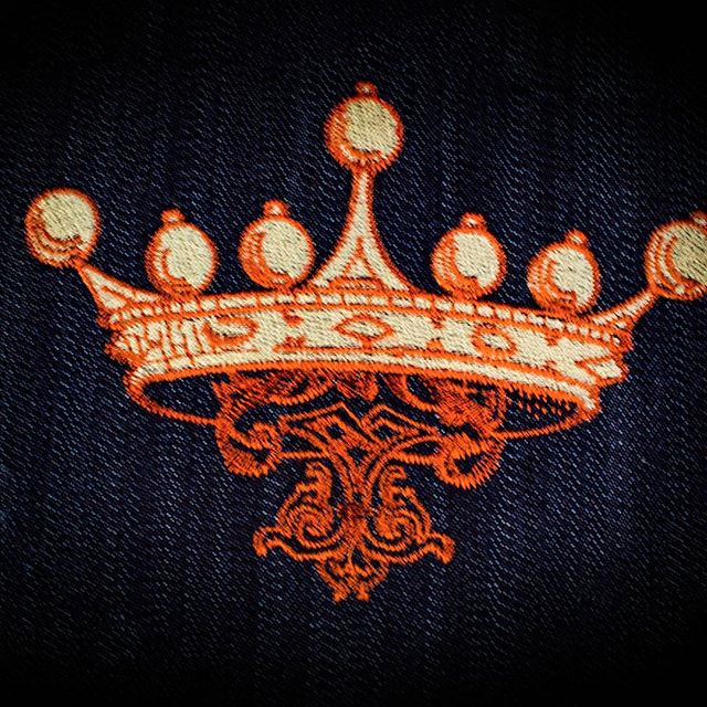 Be the king! R&C  Embroidery-where beautiful embroidery is our passion. Get a quote today! DM us! #embrodiery #branding #hats #polos #calivera #losangeles #creative #marketing #socialmedia #downey
