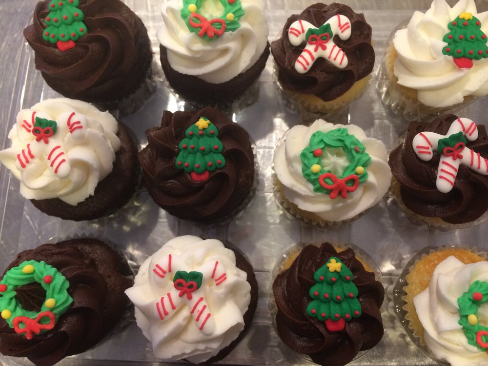 Christmas Minis (specific toppers may vary) $18 per dozen