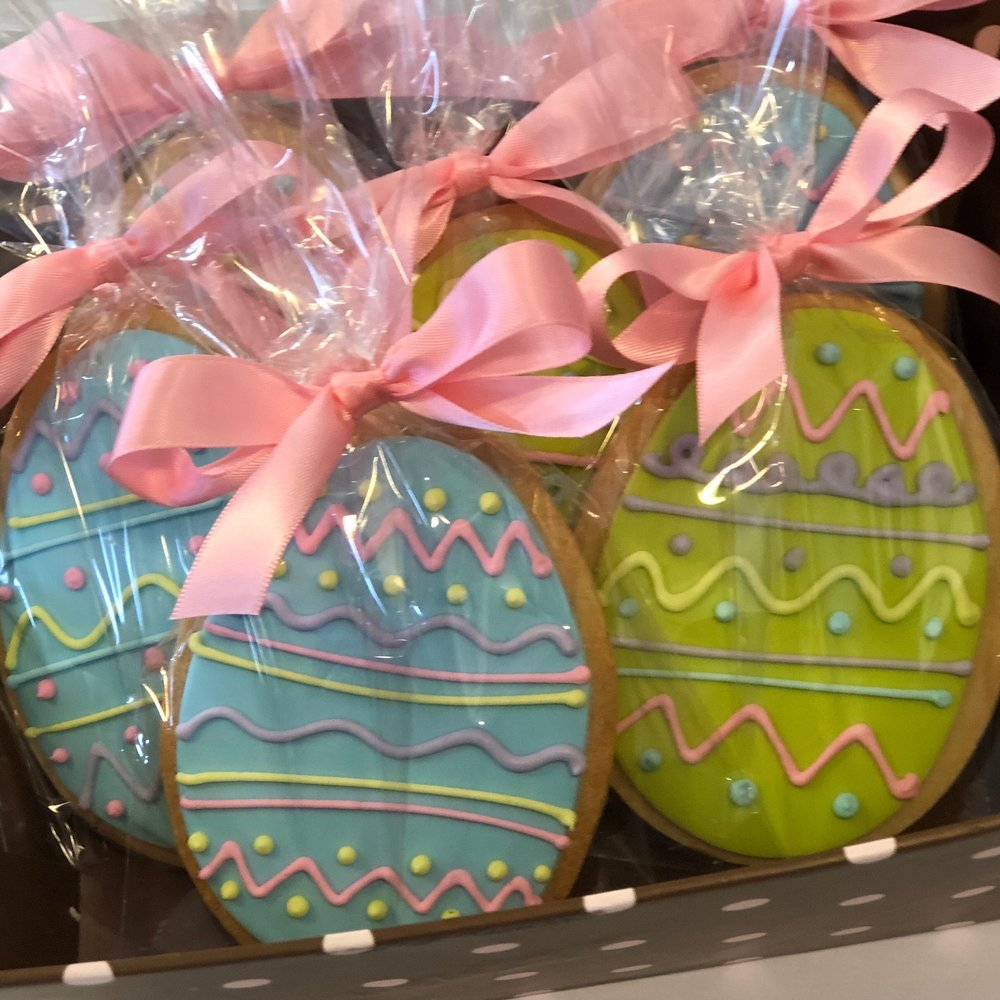 Large Easter Egg Cookies