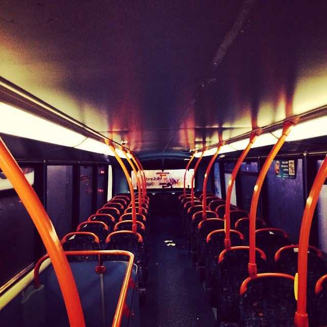 Emptyness of a Spacious Bus