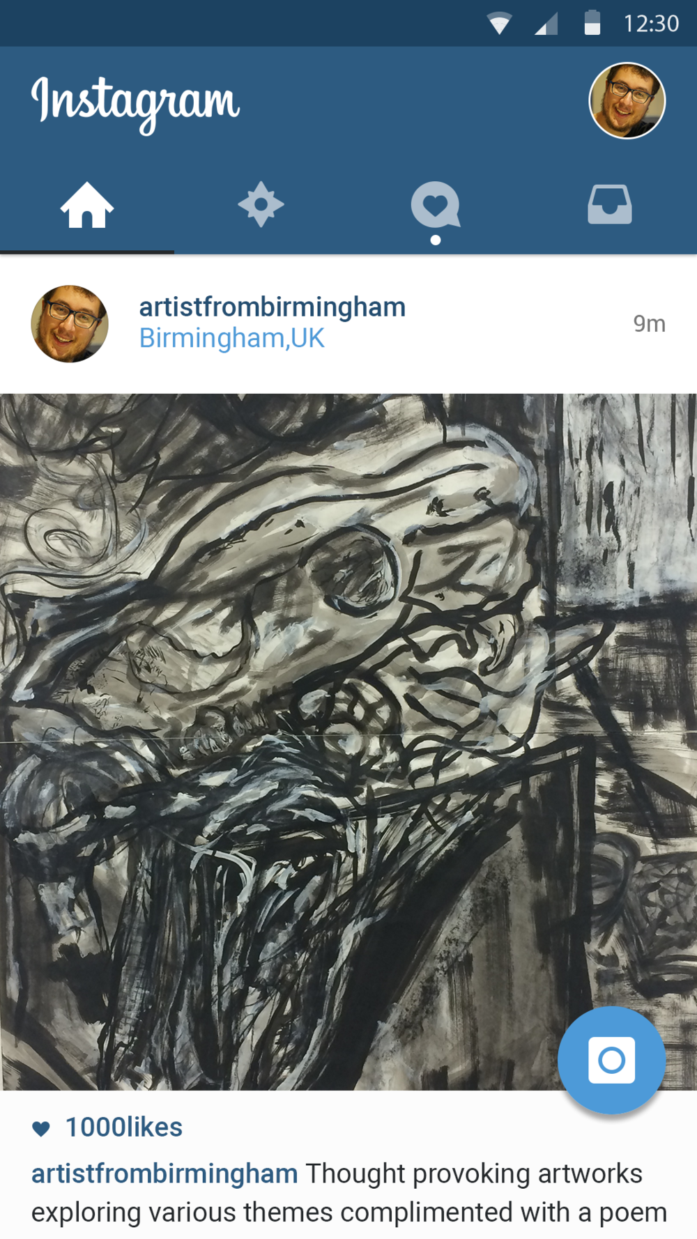 My Artwork - @artistfrombirmingham - Artwork of various mediums with poetry, short stories and questions