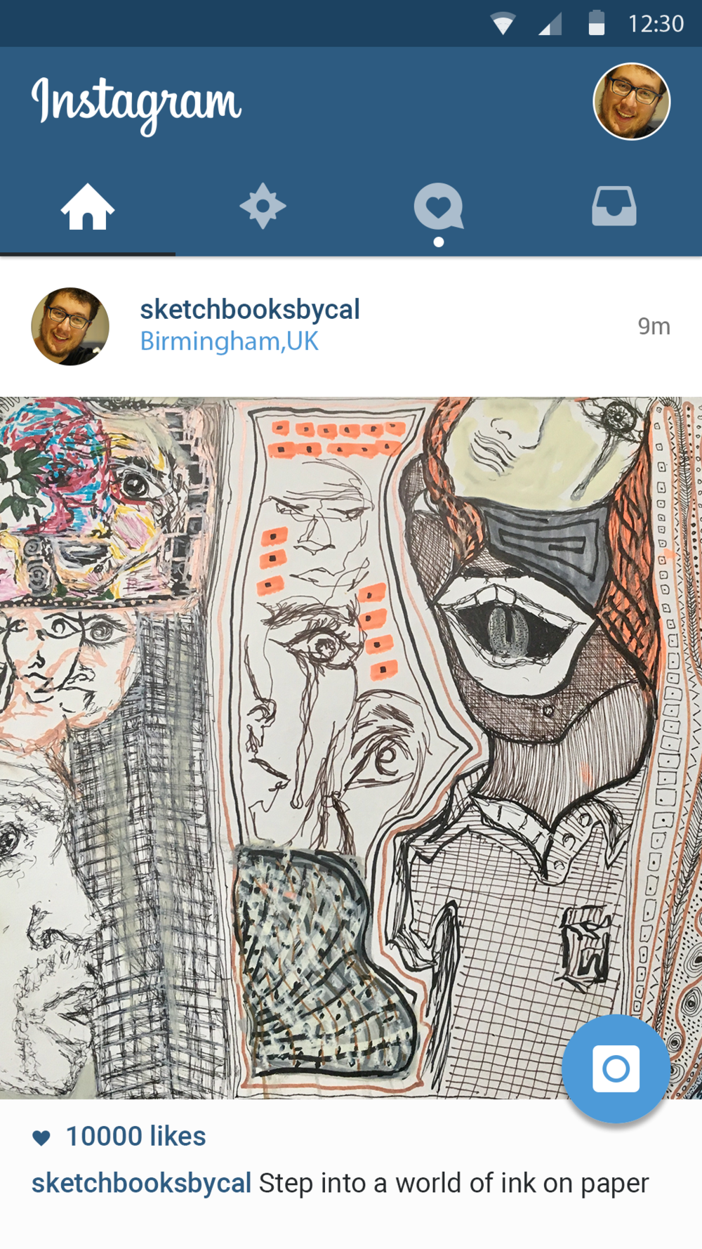 My Sketchbooks - @sketchbooksbycal -