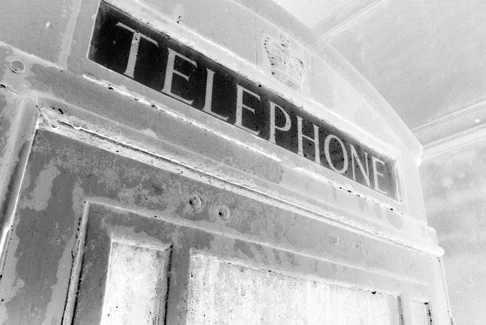 Telephonic Photographic Negative