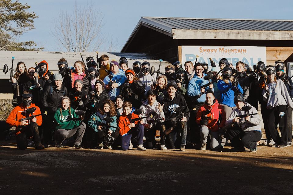 Church Group Paintball