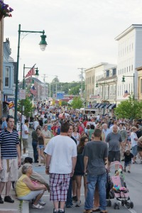 Thousands turned out for the annual Summer Sostice Festival in Rockland, Maine