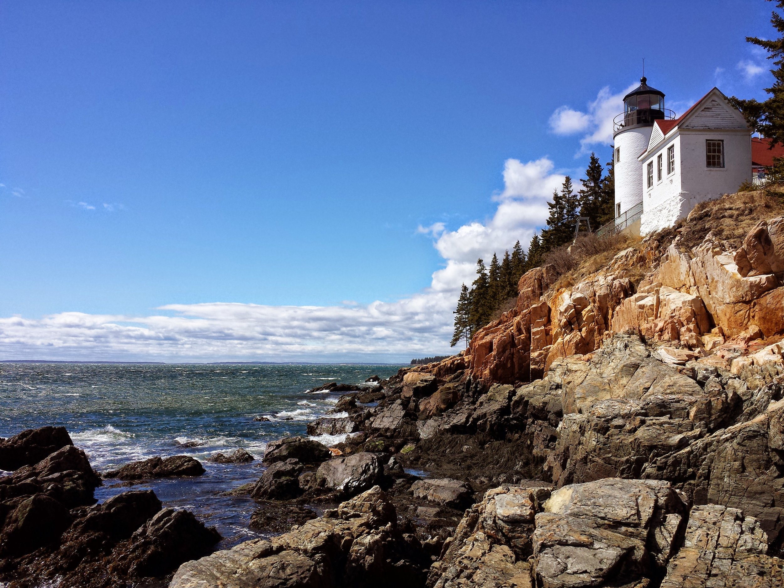 Bass Harbor Light Maine Acadia