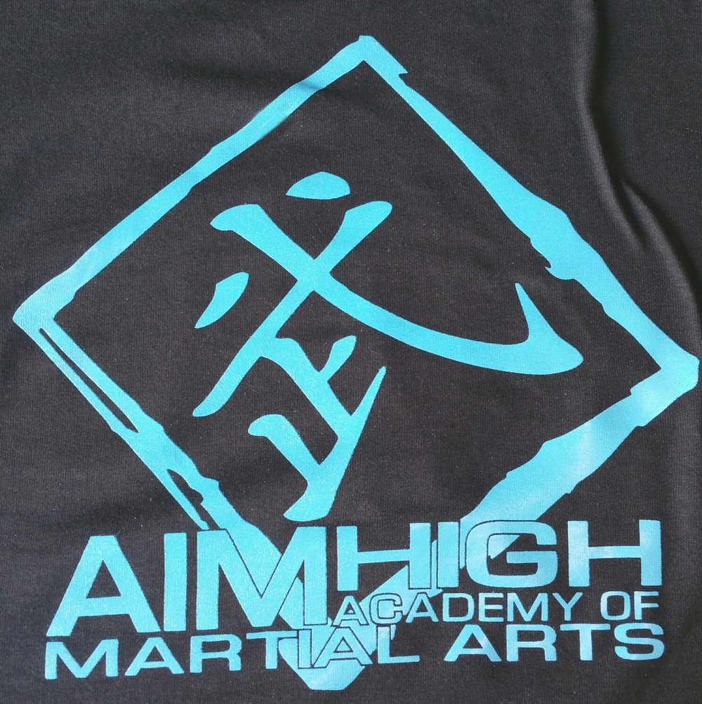 The Aim High Kaanji, the standard back to our Aim High Tees.