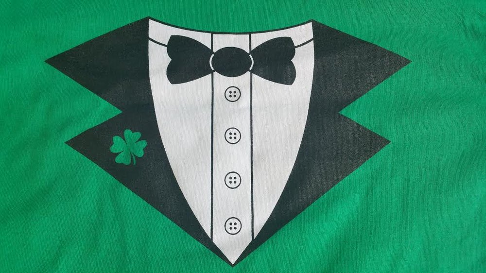 Saint Patrick's Day Tees for the Beaverton Downtown Association, 2018