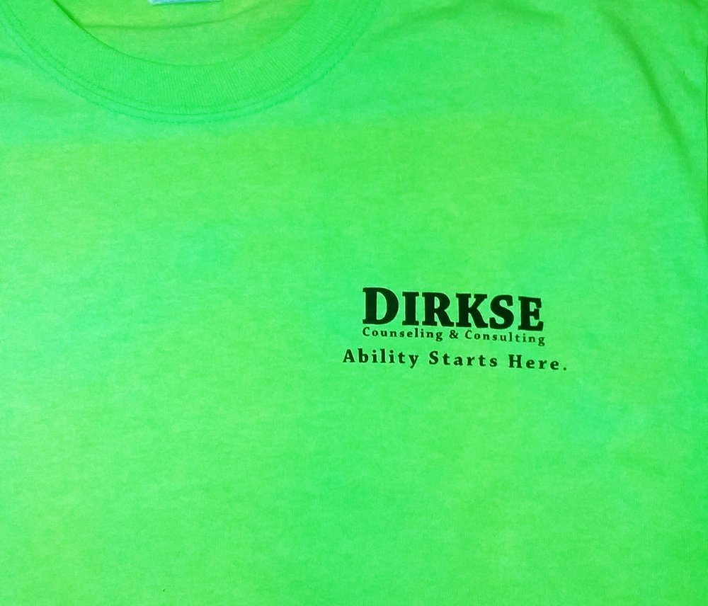 One color left chest for our partner Dirkse Works.