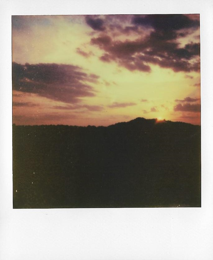 This photo and the one above it were taken on original Polaroid film. All of the following were taken on Impossible film.