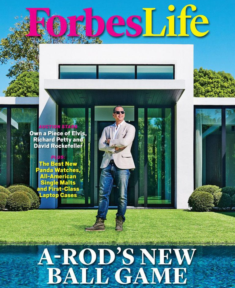 A-Rod To Redemption - ForbesLife, 04.03.18Just a few years after landing in baseball purgatory, Alex Rodriguez found redemption--through analyzing the game he loves and developing a batter's eye for business.