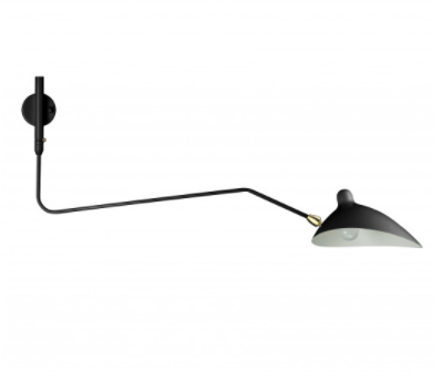 Rotating Sconce - One Curved Arm, $159