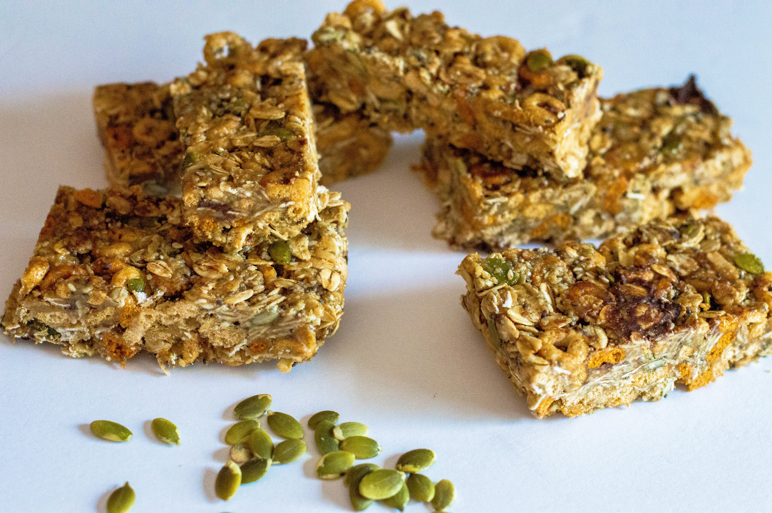 Little green lives -Glo bars- Oh she glows - healthy snacks