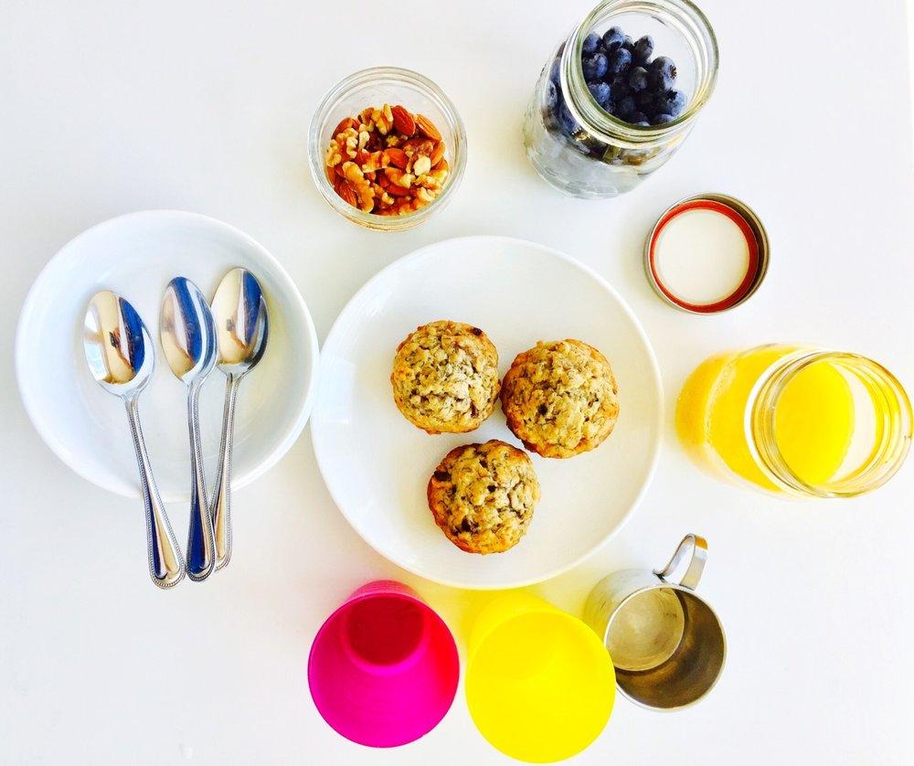 Little Green Lives - Self serve breakfast