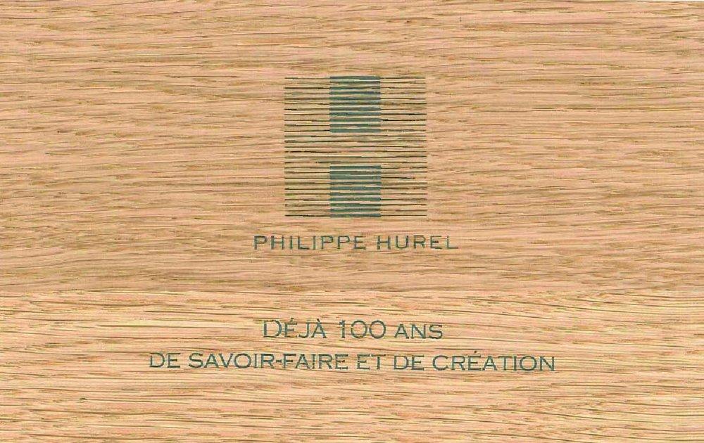2011 – - La Maison Philippe Hurel célèbre son centenaire.