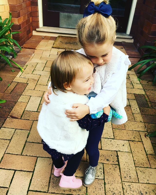 Reunited sisters 💕👭🐒🐒 #sisters #lovemygirls #love #family