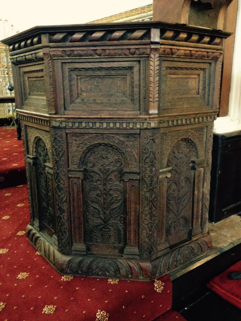 Baxter Pulpit