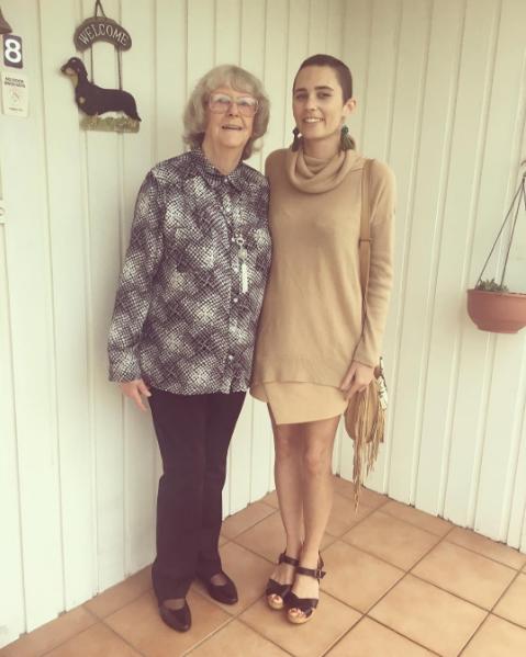 Me and my nanna
