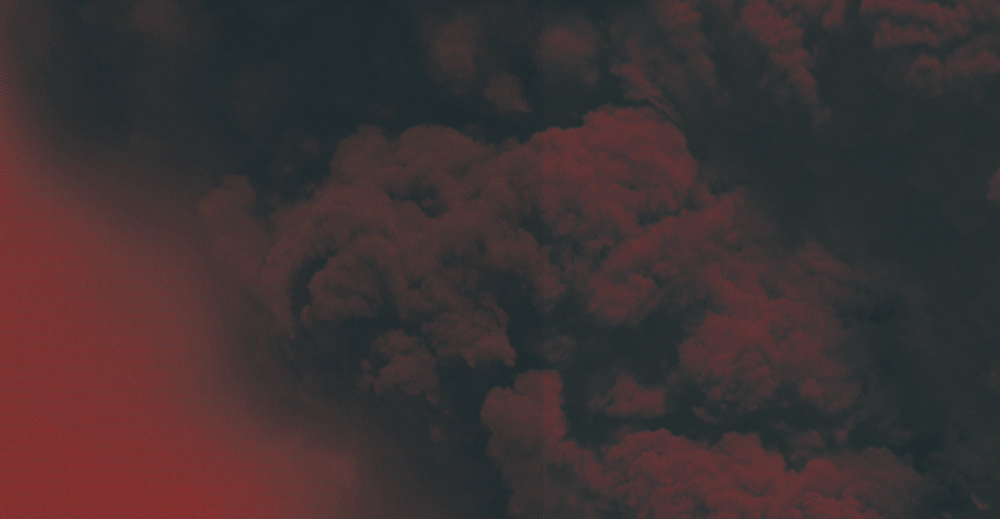 Red Smokes, 2014  Large format constructed digital images