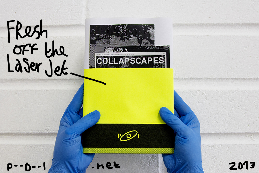 Get COLLAPSCAPES bookzine by POI