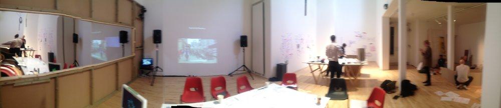 Arena  Dialogue Area & Workshop area