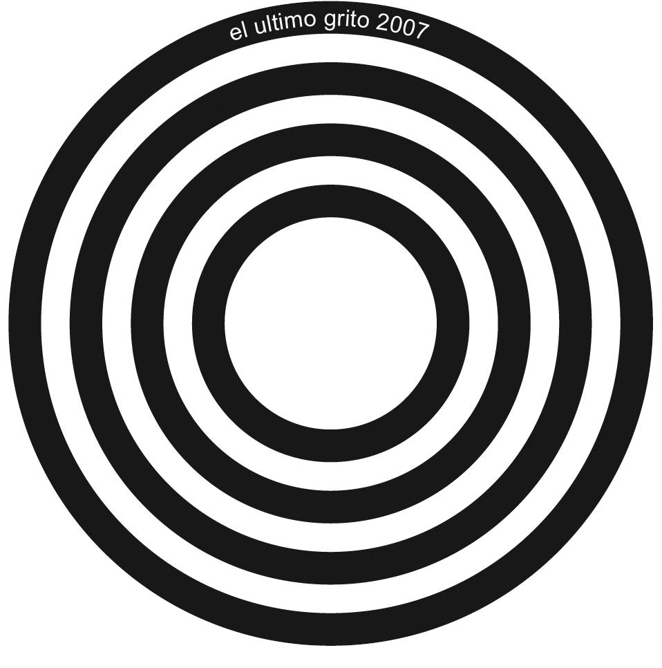 La Casa Encendida FRACTAL, 2007  Printed vinyl sticker