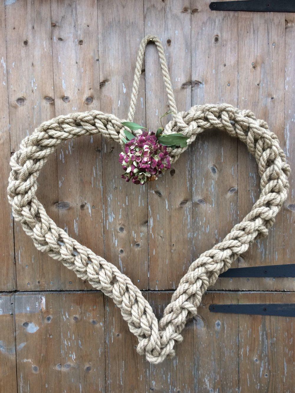 Handmade Rope heart.JPG