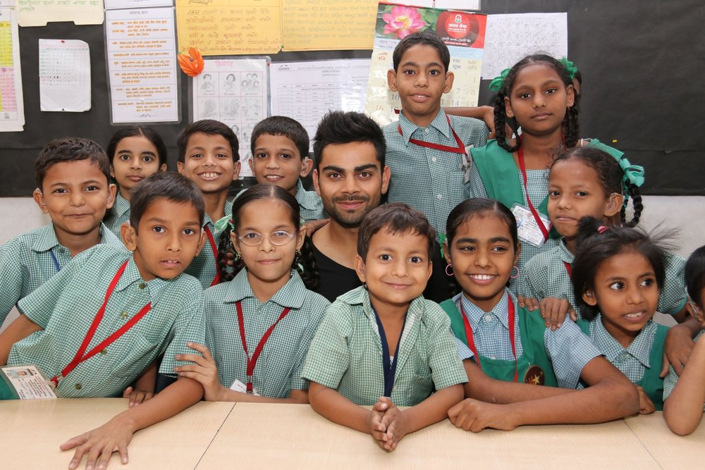 """I am proud to support the work of Justice and Care.  Its commitment to bring an end to slavery is vital and inspirational and so close to my heart."" - Virat Kohli"
