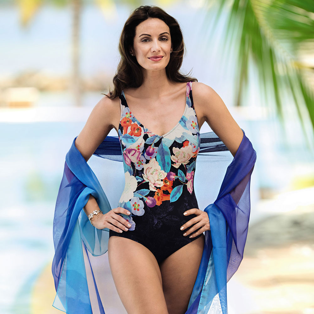 Swimwear Styles -  European styles are available from size 10-28, that are flattering whether your figure is bust- or hip-accentuated as well as mastectomy.